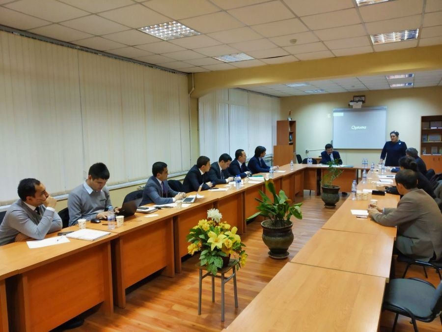 Regional coordination meeting with Uzbekistan universities